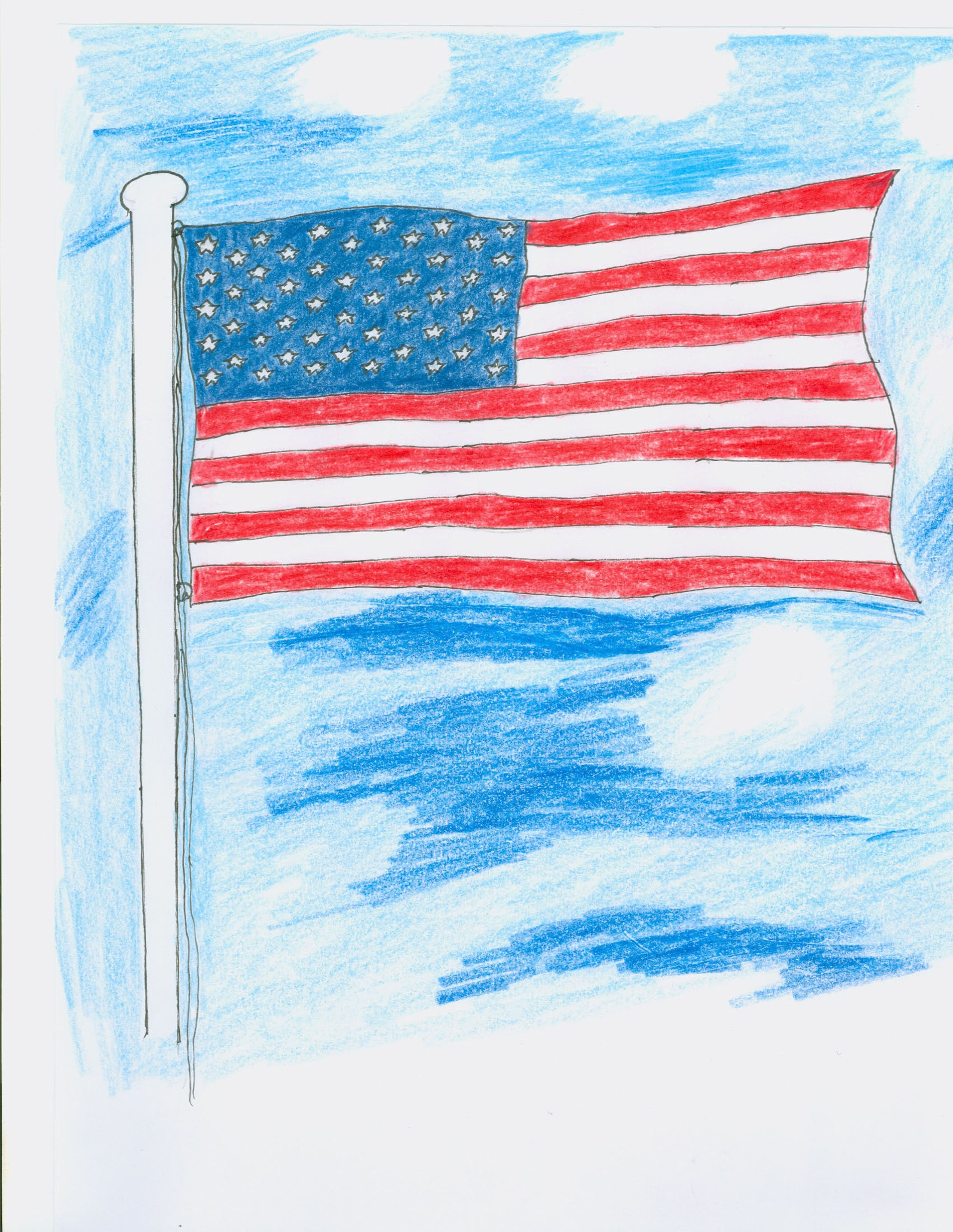 Uncategorized Us Flag For Kids properly retire your american flag stacy juba an illustration
