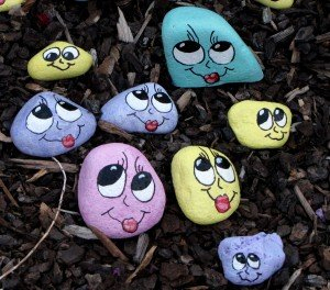 If you place an order for Happy Thoughts Rocks, the artist will let you choose a free e-print as a special bonus!