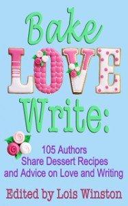 Bake, Love, Write cookbook of dessert recipes