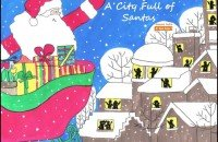 Read Aloud book: A City Full of Santas children's Christmas book