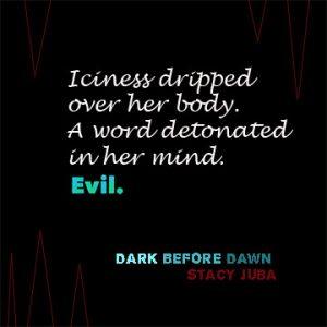Dark Before Dawn YA supernatural suspense novel