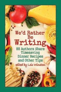 Cookbook of dinner recipes and time management tips