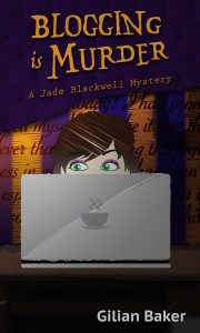 Blogging is Murder cozy mystery novel