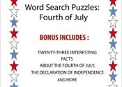 Looking for Quiet and Easy July 4th Kids' Activities? Try this Patriotic Word Search Book by @agrant10