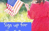 Free 5-Day Family Challenge Celebrates the American Flag #FlagDay #July4th